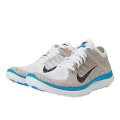 Nike耐克女子WMNS NIKE FREE 4.0 FLYKNIT跑步鞋631050-104