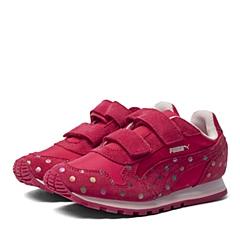 PUMA彪马2016新款女童ST Runner Dotfetti V Kids跑步鞋35982602