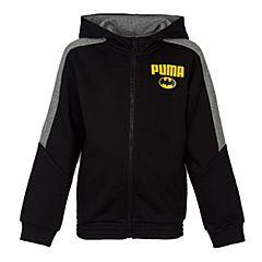 PUMA彪马新款男童基础系列Batman Hooded Sweat Jacket针织外套83967301