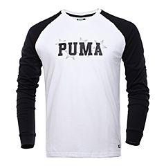 PUMA彪马 新款男子彪马生活系列长袖T恤57260701