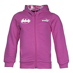 PUMA彪马女童Batman蝙蝠侠系列STYLE Batman Hooded Sweat Jacket针织外套59071939