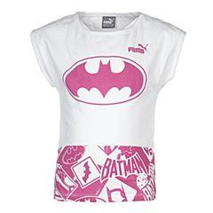 PUMA彪马女童Batman蝙蝠侠系列STYLE Batman Tee g短袖T恤59072002