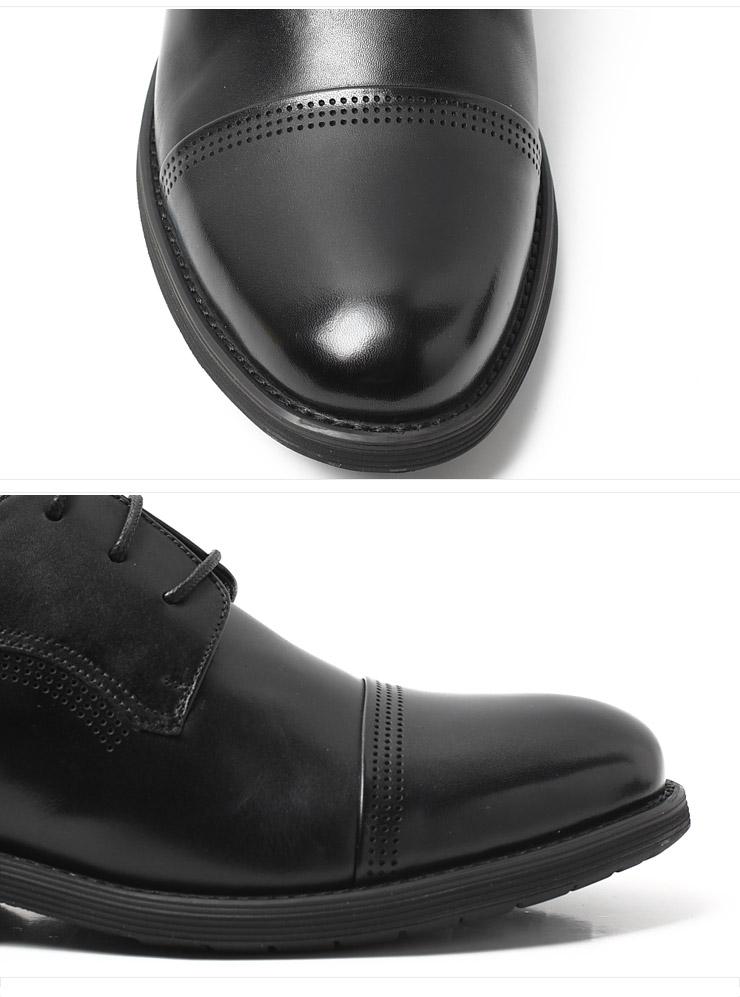senda/森达秋季黑小牛男单鞋2wf09cm2