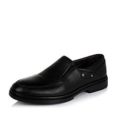 SENDA/森达冬季专柜同款黑色打蜡牛皮男皮鞋FU106DM5