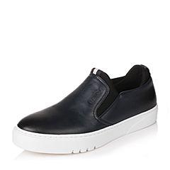 Senda/森达秋季专柜同款蓝色牛皮男单鞋VP101CM6