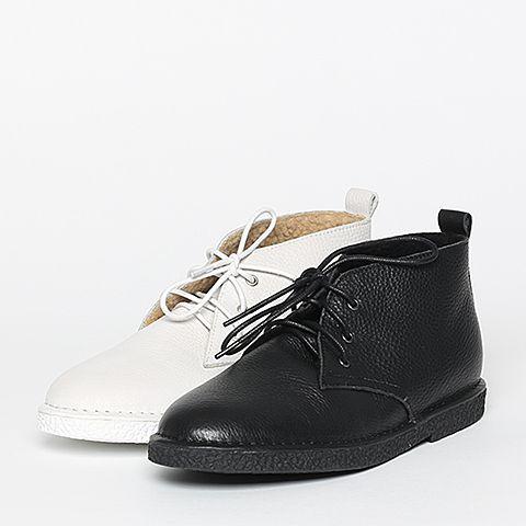 senda/森达2016冬季专柜同款黑色牛皮女皮靴dy868dd6