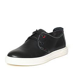 Senda/森达秋季专柜同款时尚潮流舒适牛皮男休闲鞋US101CM6