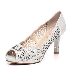 Senda/森达春季专柜同款性感大方女高跟凉鞋3QH18AU7(领红包更优惠)