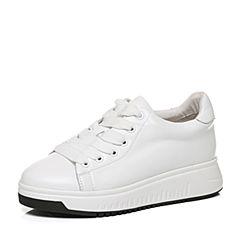 Senda/森达秋季新款时尚活力学生韩版休闲女小白鞋B1673CM7