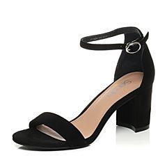 Senda/森达夏季专柜同款时尚优雅女高跟凉鞋3QV10BL7
