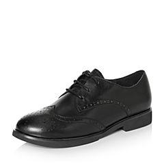 Senda/森达2018春季新款专柜同款英伦休闲女单鞋VOK20AM8