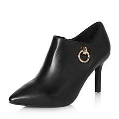 Senda/森达2018春季新款专柜同款优雅女细高跟单鞋B4A26AM8