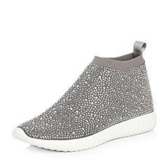 Senda/森达2018春季新款专柜同款时尚潮流女休闲鞋4AP10AM8