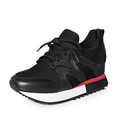 Senda/森达2018春季新款专柜同款时尚运动风女休闲鞋4AE01AM8