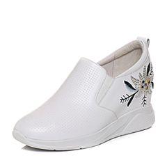 Senda/森达2018春季新款专柜同款时尚大方女休闲鞋4AN05AM8