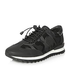 Senda/森达2018春季新款专柜同款时尚运动风男休闲鞋1DK01AM8