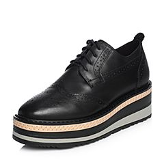 Senda/森达2018春季新款专柜同款布洛克款式女高跟鞋VIT20AM8