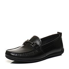 Senda/森达2018春季新款专柜同款潮流舒适休闲男豆豆鞋2DK10AM8