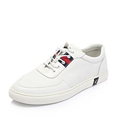Senda/森达2018春季新款专柜同款韩版潮流男休闲鞋板鞋1QS05AM8