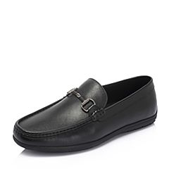 Senda/森达秋季新款专柜同款韩版舒适休闲男豆豆鞋1LS11CM8