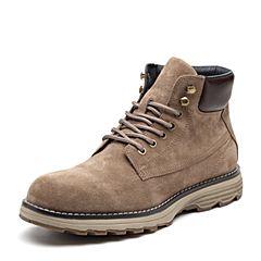 Senda/森达2018冬季新款专柜同款休闲男工装马丁靴短靴1WZ07DD8