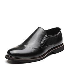 Senda/森达2019春季新款专柜同款简约舒适一?#35834;?#21830;务男鞋1DU22AM9