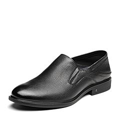 Senda/森达2019春季新款专柜同款时尚一?#35834;?#33298;适商务男鞋1DQ13AM9
