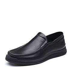 Senda/森达2019春季新款专柜同款舒适休闲男豆豆鞋V6601AM9