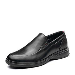 Senda/森达2019春季新款专柜同款简约舒适男商务皮鞋V3803AM9