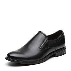 Senda/森达2019春季新款套脚简约舒适商务正装男鞋9A193AM9
