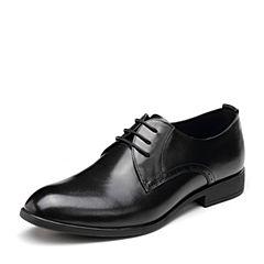 Senda/森達春季新款時尚大方舒適商務正裝男士皮鞋32721CM9