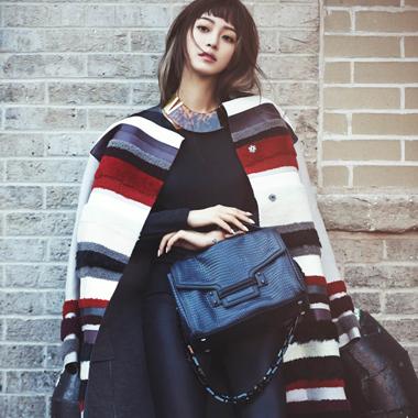 高冷女韩艺瑟 诠释韩流新时尚