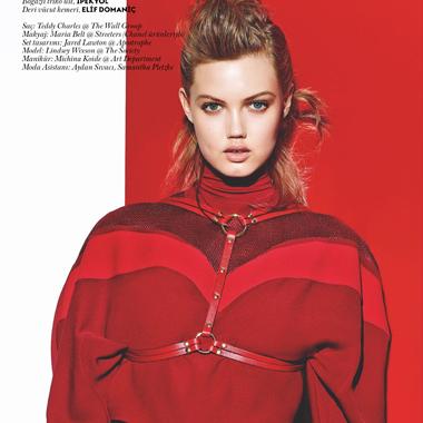 猪小妹演绎土耳其《Vogue》8月刊