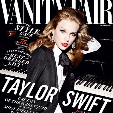 Taylor Swift演绎《名利场》9月封面