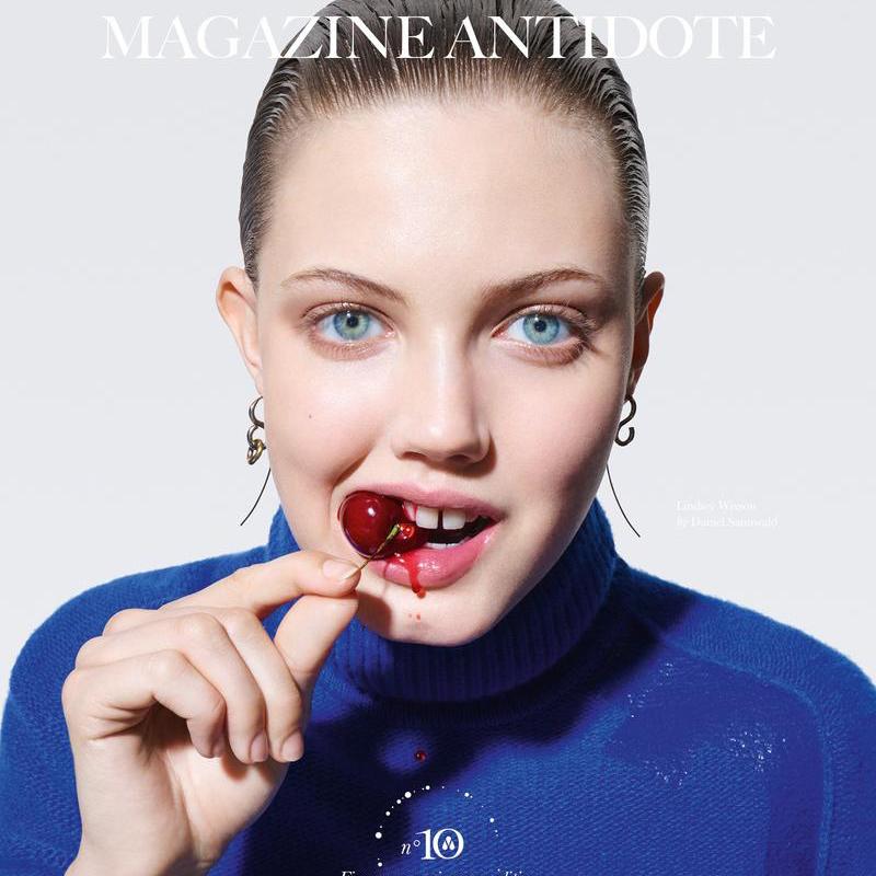 猪小妹出镜《Antidote》杂志封面