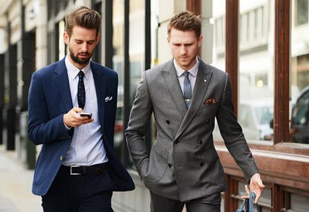 [春季白领男士服装搭配技巧大全]优购网让白领秒变型男手册