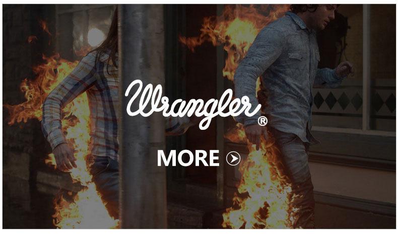 Wrangler 威格 专柜同款 女士深蓝色水洗做旧直筒牛仔裤WWC766413