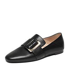 STACCATO/思加图春季专柜同款牛皮女单鞋9D901AM7
