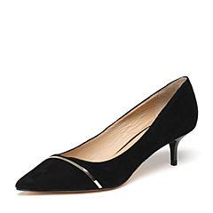 STACCATO/思加图春季专柜同款羊绒皮浅口女单鞋9YD09AQ7