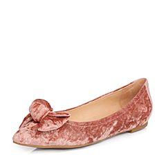 STACCATO/思加图2017年春季粉色甜美女单鞋K6101AQ7