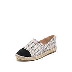 STACCATO/思加图2019专柜同款毛绒布休闲女鞋9UA47AM9