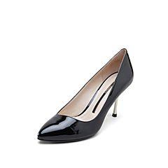 STACCATO/思加图2019专柜同款漆皮牛皮革女皮鞋EY263AQ9