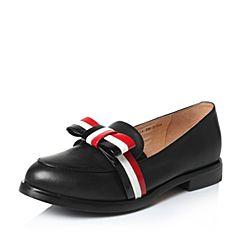 Tata/他她2017年春季黑色时尚女皮鞋2I216AQ7