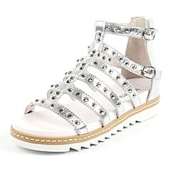 Teenmix/天美意夏季专柜同款贴膜牛皮女凉靴AN011BB6