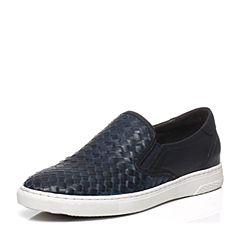 Teenmix/天美意春季专柜同款蓝色牛皮男单鞋1UK0TAM6
