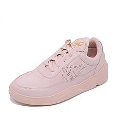 Teenmix/天美意2017专柜同款粉色牛皮学院风情侣款女休闲鞋AP321CM7炫舞联名款