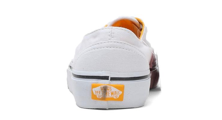 万斯低帮鞋带的系法图解