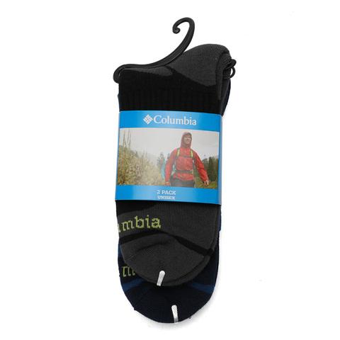 哥伦比亚户外鞋价格_Columbia哥伦比亚中性OMNIWICK SOCKS SHORT CREW 2PAI袜子LU0454010图片-优购 ...