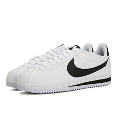 NIKE耐克2020年新款女子WMNS CLASSIC CORTEZ LEATHER复刻鞋807471-101