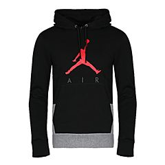 NIKE耐克2018年新款男子AS JUMPMAN AIR GFX FLEECE PO卫衣/套头衫942776-010